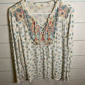Artisan crafted by democracy tunic top